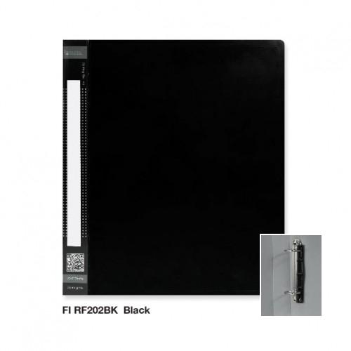KCK RF202D-BK 2 Ring File (6pcs)