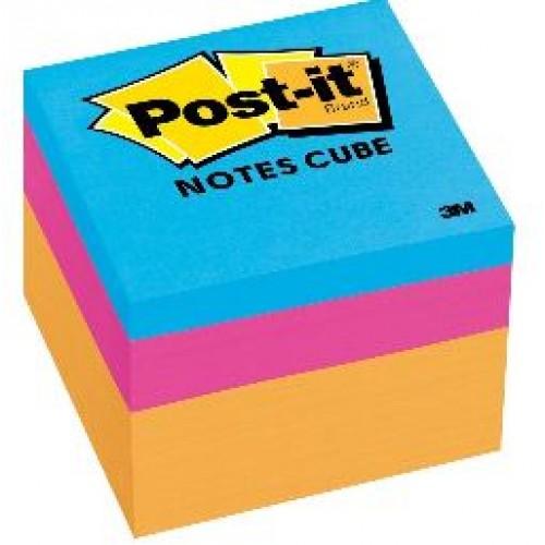 3M 2051-Neon Post-it Notes Mini Cubes 2x2