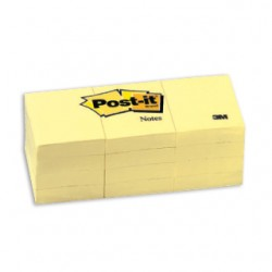 3M 653Y Post-it Note 1.5 x 2 (12pads)