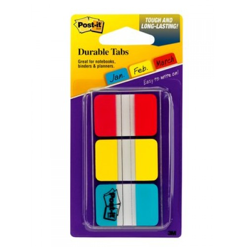 3M 686-RYBT Durable Tape Flags