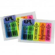 EPL MP-0520F Arrow Msg Flag-Sign Here