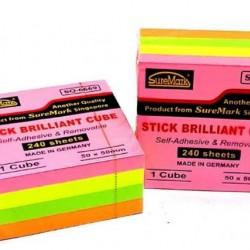 Suremark Stick Brilliant Cube SQ6669 (2x2 inches)