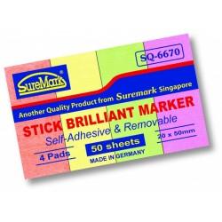 Suremark SQ6670 Brilliant Stick Note