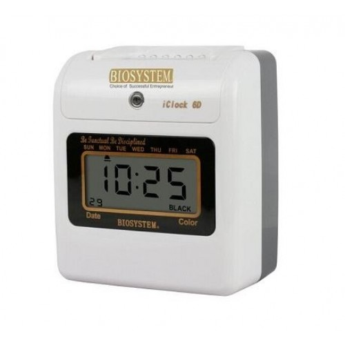 Biosystem iClock6 Digital Time Recorder