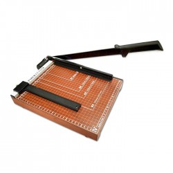 Suremark Wooden Base Paper Cutter
