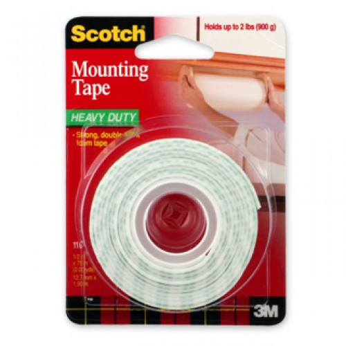 3M Scotch 110 Mounting Tape 12mm
