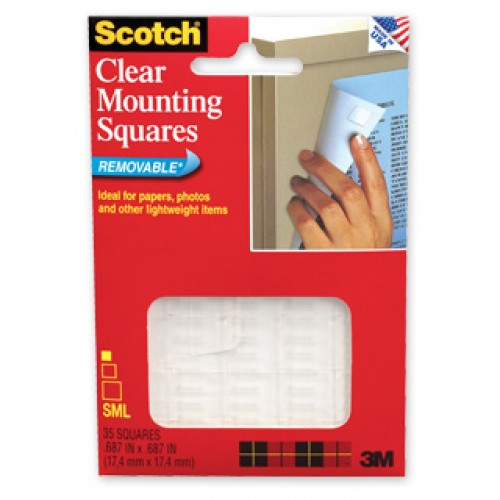 3M 859 Scotch Remov Mounting Sq