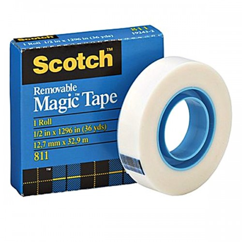 3M 811 Scotch Removable Tape 12.7mm