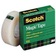 3M 810 Scotch Magic Tape 19mm
