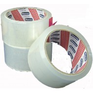 Hunter Clear OPP Tape 2 inch x 90 yards (6 rolls per tube)