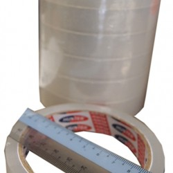 Hunter Clear Opp Tape 12mm x 40m
