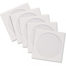 Envelope CD-Round Square - White (20s)