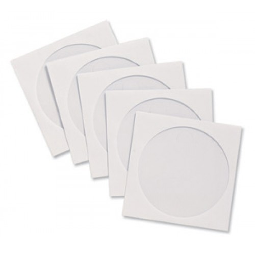 Envelope CD-Round Square - White (20s)