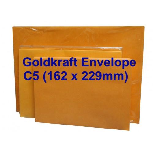 Envelope C5Gk 6-3/8X9 Goldkraft (20s)