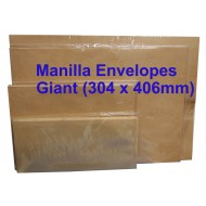 Envelope No.1216M Giant 12X16 Manilla (10s)