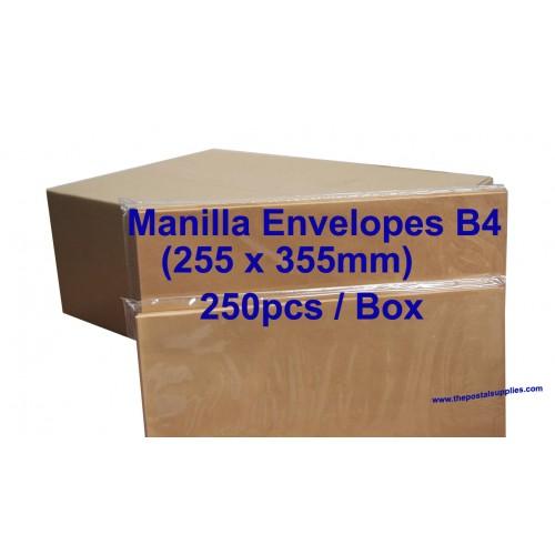 Envelope B4M 10X14 Manilla (box)