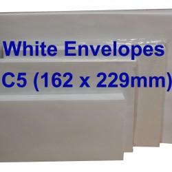 Envelope C5W 6-3/8X9 White (20s)