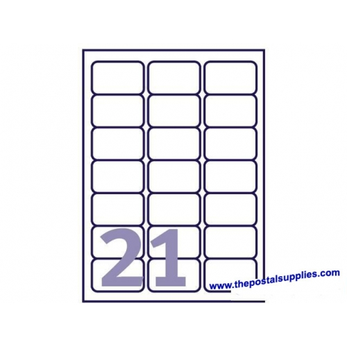Avery L7160 Labels