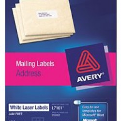 Avery L7161 Address Labels