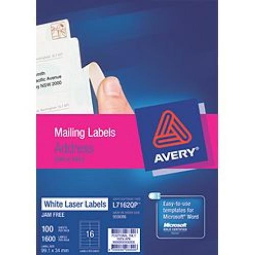 Avery L7162 Address Labels