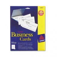 Avery 5371 Laser Business Cards (25 cards)