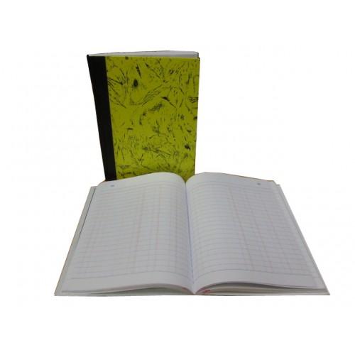 HK 3 Columns A5 Book (200) with Nos