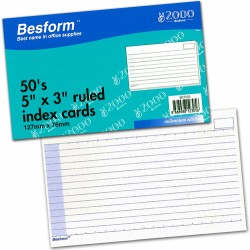 Besform BCR53 Ruled Card