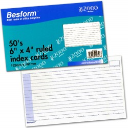 Besform BCR64 Ruled Card