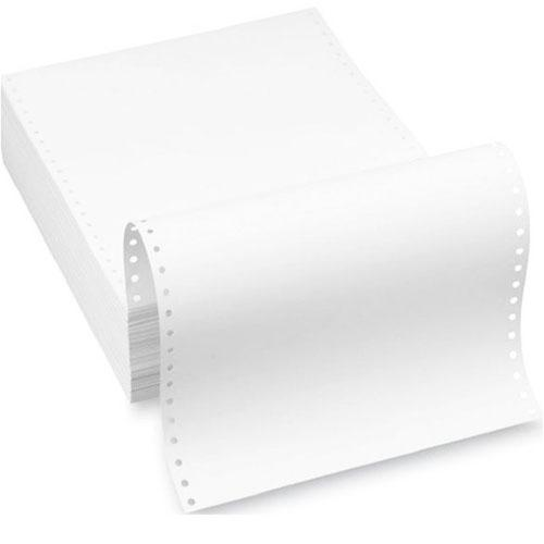 White Computer Forms 9.5 x 11 Inch (1-Ply) 1400 shts