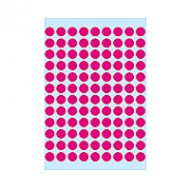 Herma 1836 08mm Col Dots - Rosy