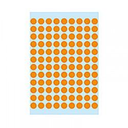 Herma 1844 08mm Col Dots - Lum. Org