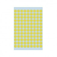Herma 1841 08mm Col Dots - Yellow