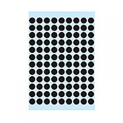 Herma 1849 08mm Col Dots - Black