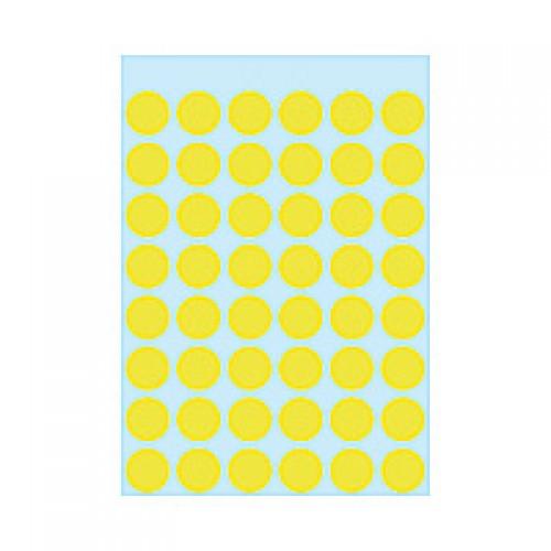 Herma 1854 12Mm Col Dots - Lum.Yw
