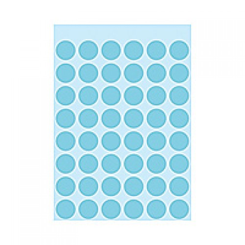 Herma 1863 12Mm Col Dots - Blue