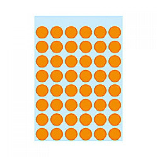 Herma 1864 12Mm Col Dots - Lum. Org