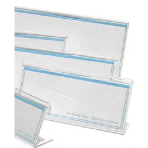 L24 L-Shape Card Stand