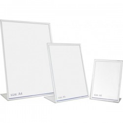 Stz 51010 Acrylic Literature Holder A4 (Potrait/ Vertical)
