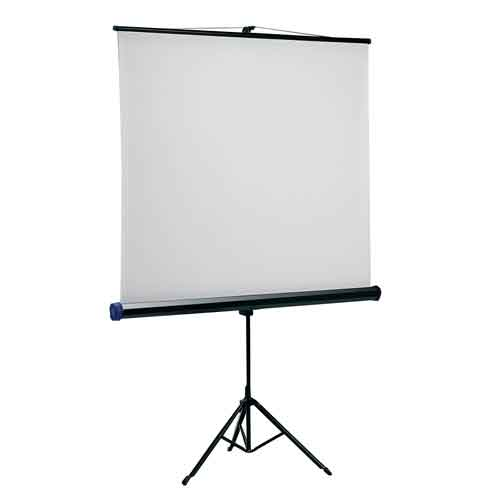 QUARTET Tripod Portable Projector Screen 1750