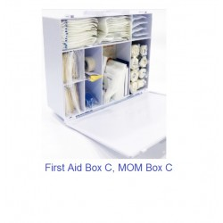 First Aid Kit Outfit Box C (MOM Compliant) YM