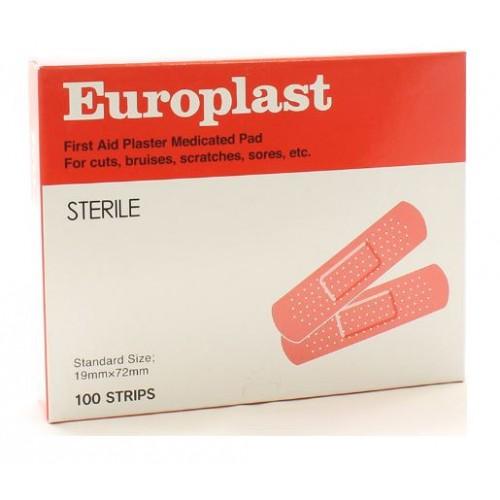 Europlast Plaster Strips 100s