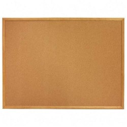 S203-45 Corkboard with Wooden Frame