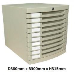 10 Drawer Cabinet A4 US-8K