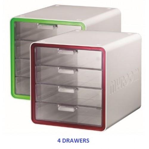 MYROOM 10010 File Cabinet 4D