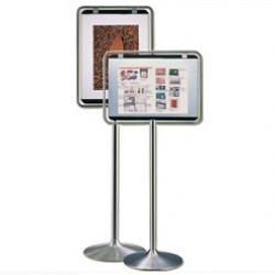 Stainless Steel Sign Stand