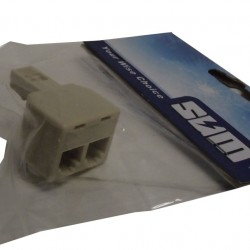 Sum 5400 Telephone Adaptor Pin To 2 Way Socket