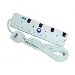 4-Way Portable Socket Outlet (6m)