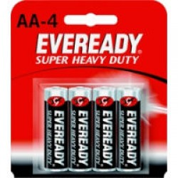 Eveready battery M1215 SW4 AA (4s)