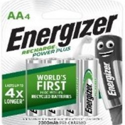 Energizer Rechargeable Battery AA 2000mAh (4s/pk)