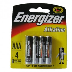 Energizer Battery AAA (4s/pk)